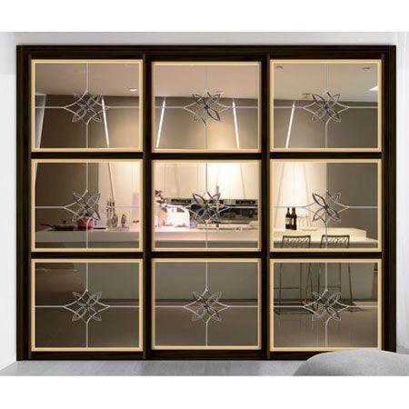川居门窗-艺术玻璃/隔断系列 L-178
