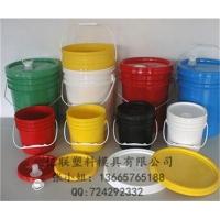 供应多款优质涂料桶模具 垃圾桶模具 塑料水桶模具 黄岩亿联模