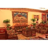 藏式家居装饰 外墙吊顶 双通装饰图片