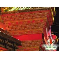 藏老湿影院48试装饰雕花  外墙装饰  西藏双通装饰