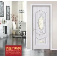佳祥和JXH-9001烫金门系列玉石钢木门