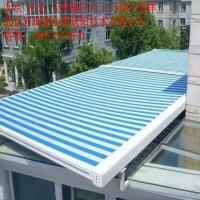 天津和平区遮阳天幕棚玻璃房顶遮阳棚定做电动遮阳隔热天幕蓬