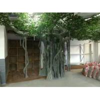 安徽生态园假树施工