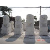 大理石、石凳、汉白玉石狮子
