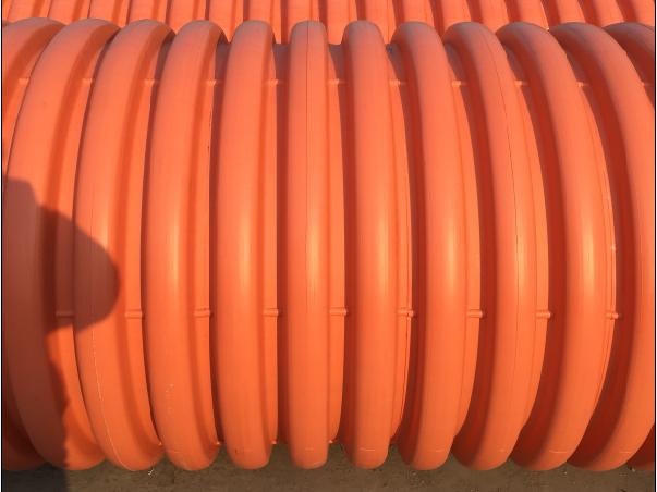 湖北金山洋生管道供应增强聚丙烯(FRPP)双壁加筋管