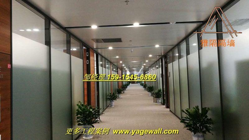 南宁专业厂家定制成品高隔断 南宁哪里有中空玻璃百叶高间隔