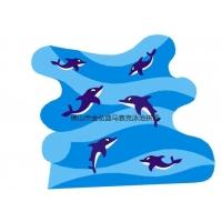 供应景观游泳池拼图陶瓷马赛克 厂家价格瓷砖