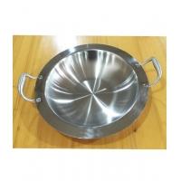火锅电磁炉专用不锈钢加厚汤锅宽边火锅盆火锅干锅通用锅