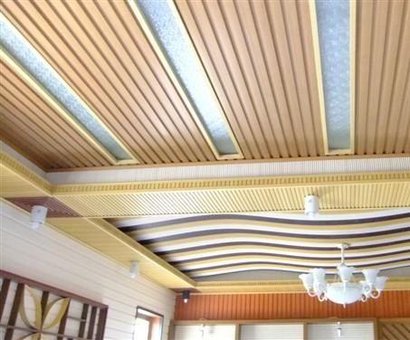 万景生态木吊顶效果图产品图片,万景生态木吊顶效果图产品相册 临沂万景生态木制造厂