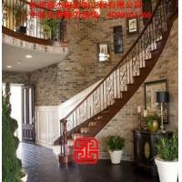 铜艺生产商专业定制别墅装修铜扶手楼梯