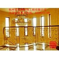 优质铜质扶梯 楼梯扶手 专业定制