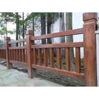 仿木栏杆 水泥grc仿木栏杆的特点