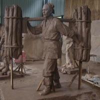 玻璃钢雕塑、玻璃钢大型雕塑、人物玻璃钢雕塑