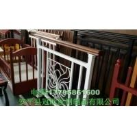 锌钢楼梯扶手合成木塑木楼梯护栏