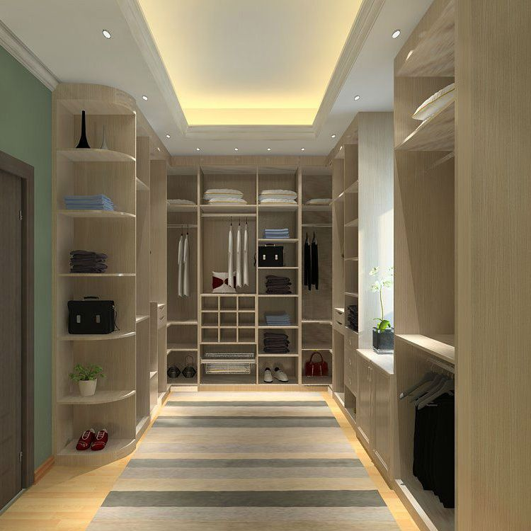 德尼尔衣柜定制 卧室组合衣柜定做 平移推拉定制衣柜90度衣柜