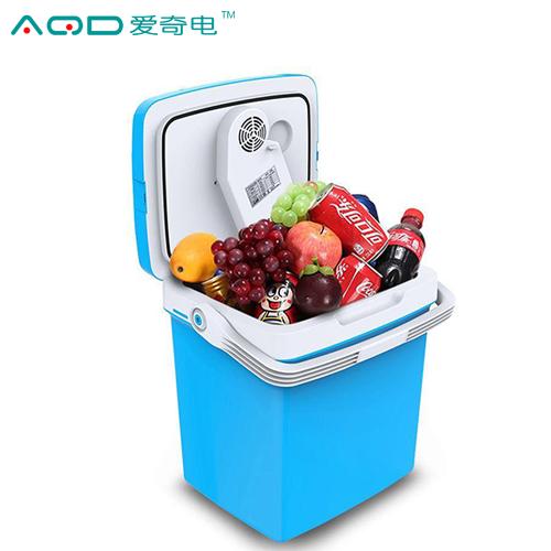 爱奇电26L迷你家用车载便携式小型制冷冰箱