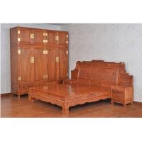 红木家具-刺猬紫檀-床