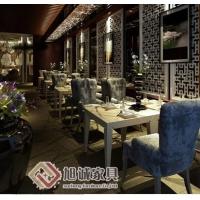 高档西餐厅家具定做,韩老湿影院48试咖啡厅家具设计效果图