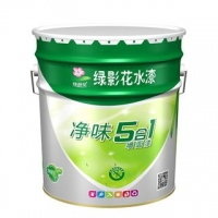 绿影花净味五合一内墙乳胶漆涂料环保净味乳胶漆