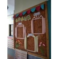 幼儿园吸音防撞软木墙板_新型环保水松墙板
