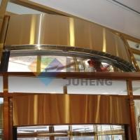 圆弧型风幕机旋转门风幕机弧形风幕机电动门定制热风幕机