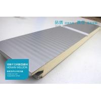 聚氨酯夹芯板小波纹墙面板