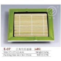 竹形盛器/塑料竹形盛器/ABS竹形盛器