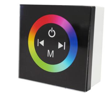 彩色面板调光器 面板触摸RGB控制器