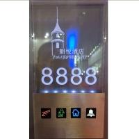 LN-BO 联兴邦 酒店宾馆智能电子发光门牌 水晶变色房号牌