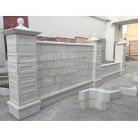 供应景观预制围墙模具 简欧式拼装双面预制围墙