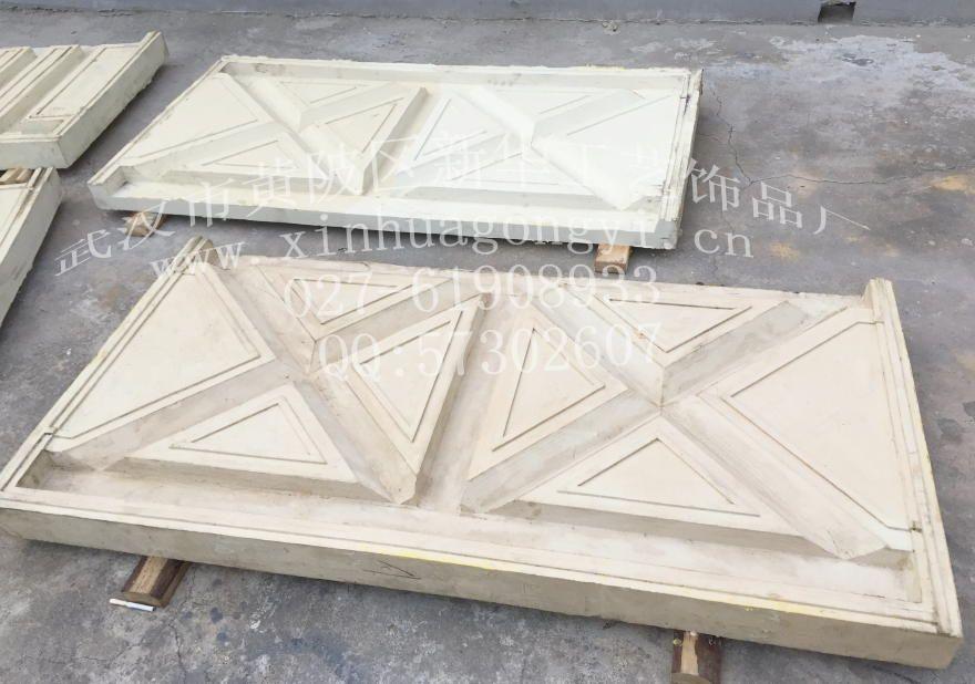 木栅栏片-模具 仿木 护栏 栏杆
