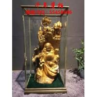 宗教用品 崖柏观音菩萨 弥勒佛像 财神摆件 佛教风水用品