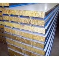 防火岩棉夹芯板。安装设计厂房,大棚