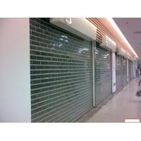 電動水晶門 透明商鋪門 透明卷閘門