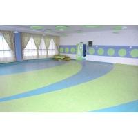 南充PVC塑胶地板办公室地板幼儿园地板卷材地板防滑地板