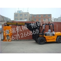 供应襄阳凌瑞5吨装砖车5吨水泥砖夹砖机蒸养砖抱砖