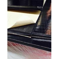 复铝膜NBR保温海绵 开孔橡塑覆合隔热板 隔音板