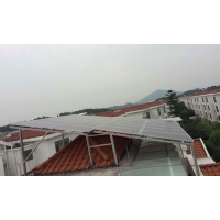 别墅屋顶光伏太阳能发电站