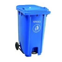 信源环卫可移动挂车垃圾桶