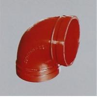 泊客球铁沟槽管件—90°弯头