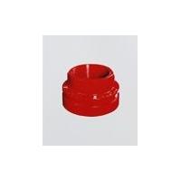 泊客球铁沟槽管件—丝接异径管