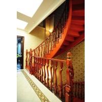 秦氏实木楼梯配件、4.5×8榉木楼梯扶手
