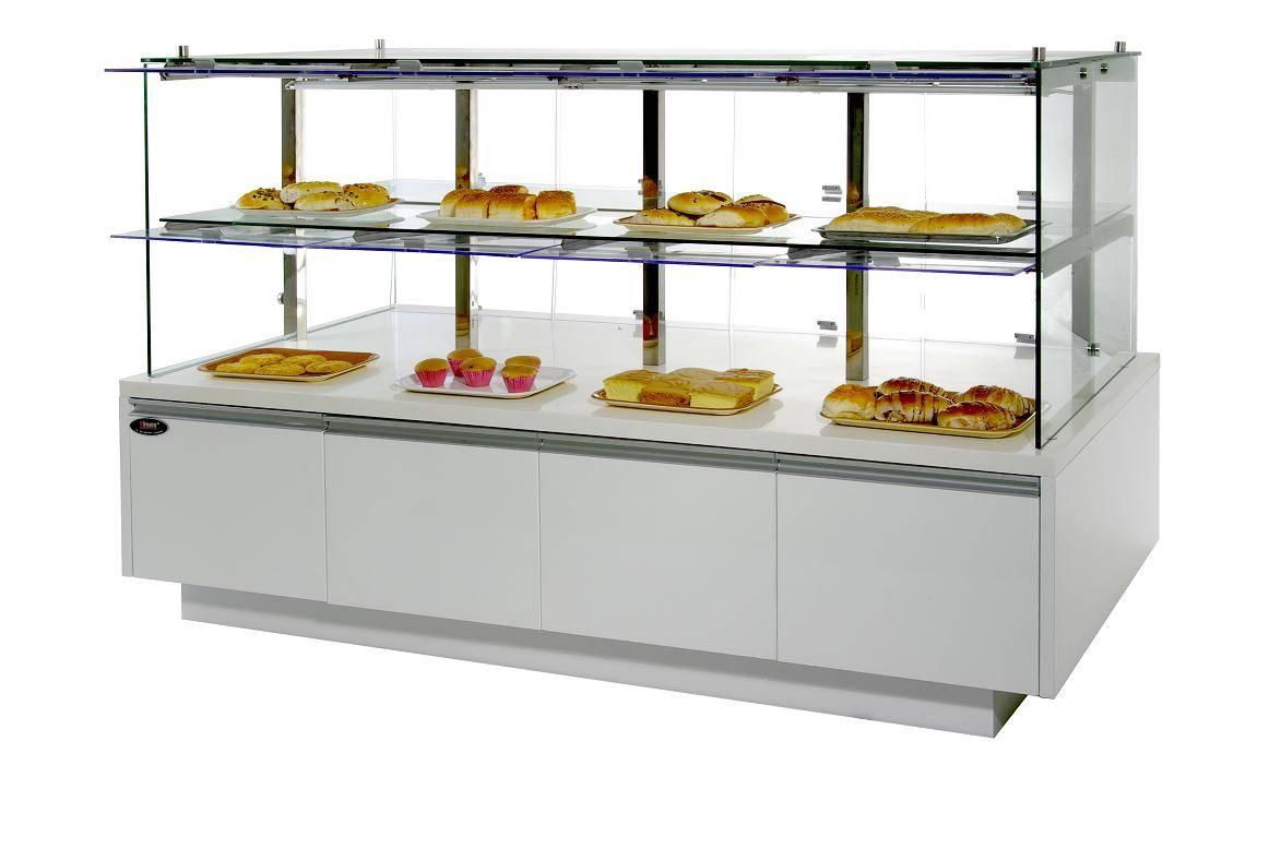 展示柜,中岛柜,面包柜,海钜冷柜厂,面包展示柜20090309