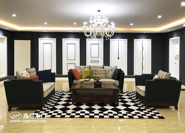 重庆逸品木门:木门展厅,精益求精的产品