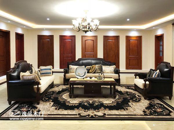 重庆逸品木门:木门展厅,优质的产品