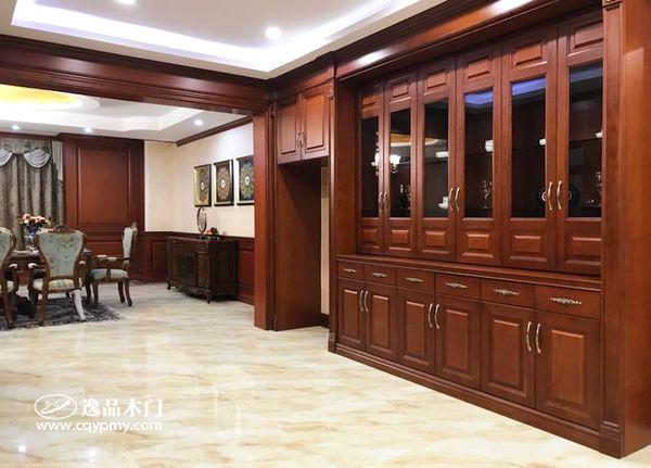 重庆逸品木门:整装展厅,注重用户体验
