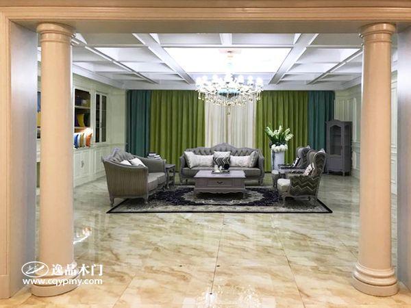 重庆逸品木门:注重用户体验,整装展厅打造