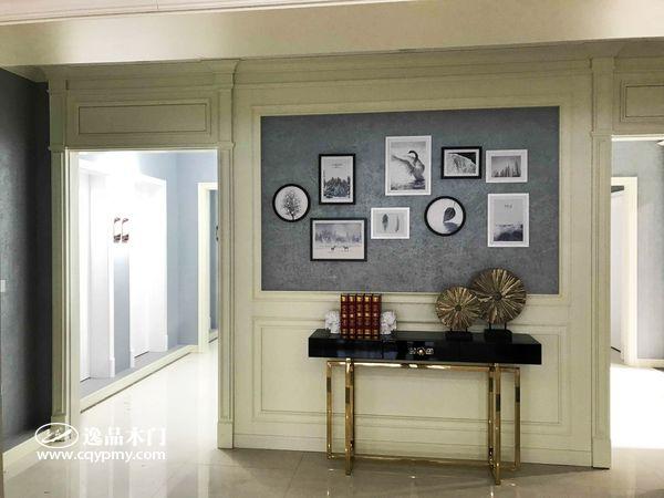 重庆逸品木门:整装展厅展示 软装搭配