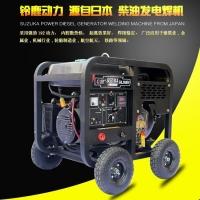 电启动风冷便携式250a高端柴油发电焊机SHL250EW
