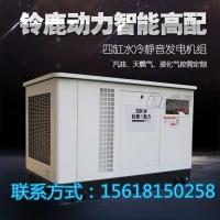 30KW全自动静音汽油发电机医院/供电局必备应急电源